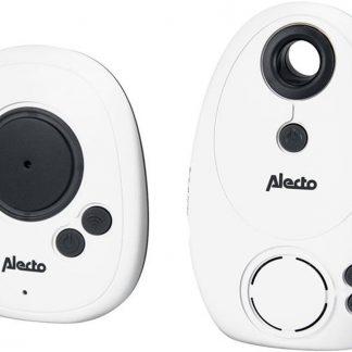Alecto DBX-30 DECT babyphone Zwart, Wit babyfoon