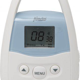 Alecto DBX-83 Babyunit voor DBX-82 babyfoon met groot bereik | Bereik tot 3 kilometer | Wit / Blauw