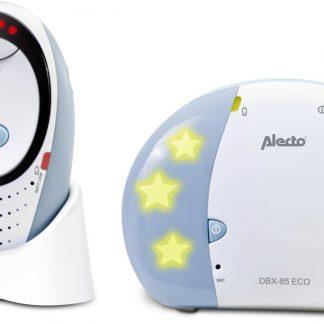 Alecto DBX-85 ECO DECT | Digitale ECO DECT babyfoon | 100% storingsvrije verbinding en ECO modus | Blauw