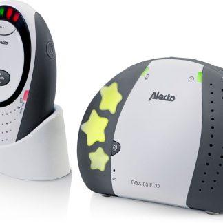 Alecto DBX-85 LIMITED ECO DECT babyfoon, grijs| 100% storingsvrije verbinding en ECO modus | Grijs