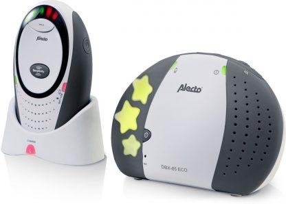 Alecto DBX-85 LIMITED ECO DECT babyfoon, grijs  100% storingsvrije verbinding en ECO modus   Grijs