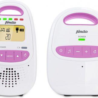 Alecto DBX-98 - DECT Babyfoon - Roze