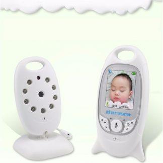 Babyfoon met Camera en Scherm, Microfoon, Luidspreker en Liedjes!