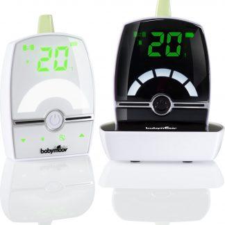 Babymoov Premium Care - babyfoon - bereik 1400m (met functie slaapliedjes) 2 baby-units mogelijk