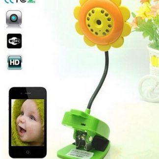 Bloem IP-camera voor kinderkamer Baby monitor / Inclusief nachtzicht