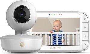 "Motorola MBP-55 Babyfoon met camera 5.0"""