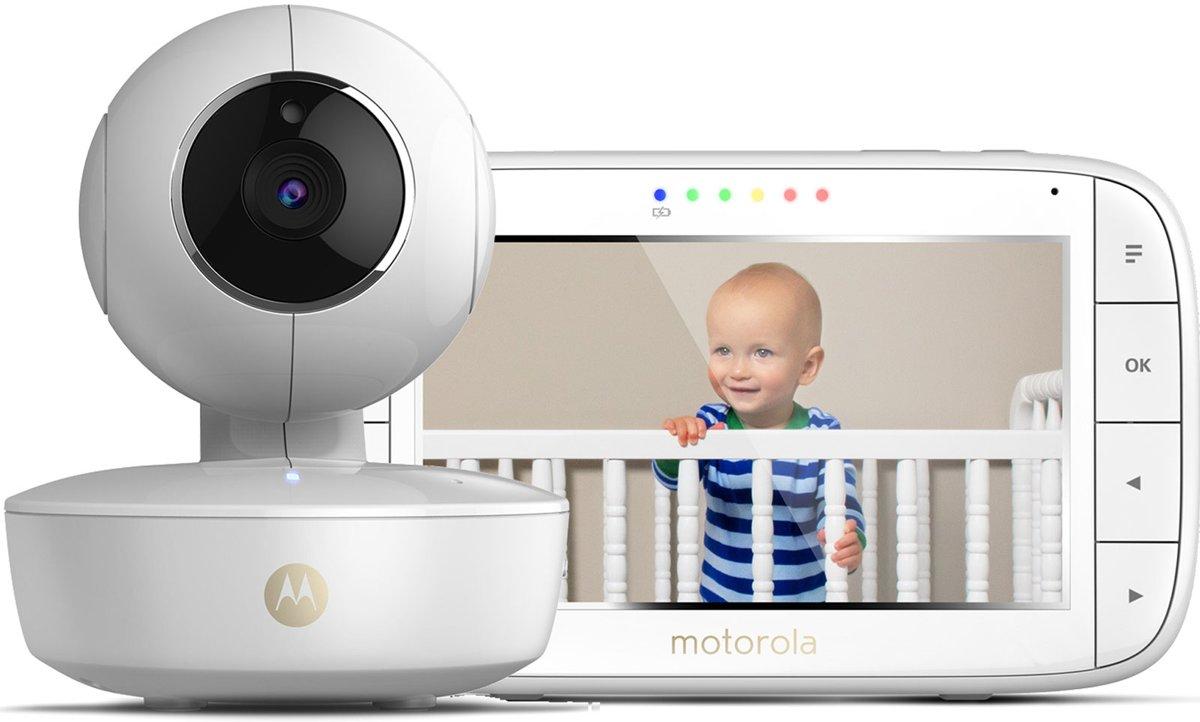 Motorola Mbp 55 Babyfoon Met Camera 5 0 Quot Babyfoonwinkel