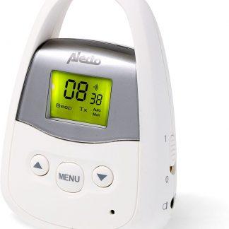 Alecto DBX-93 Babyunit voor DBX-92 babyfoon met groot bereik | Bereik tot 3 kilometer | Wit / Grijs