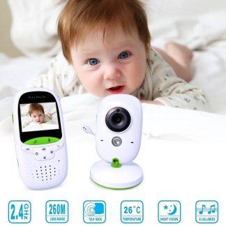 VB602 Video Baby Monitor Babyfoon Met Camera en touchscreen - Wit