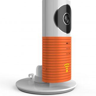 Clever Dog Draadloze IP Beveiligingscamera / Babyfoon - Met Infrarood - Oranje
