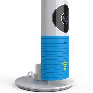 HD Cleverdog *2018* WiFi IP Beveiligingscamera / Babyfoon - Met infrarood & Cloud opslag - Blauw
