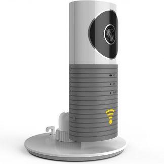 HD Cleverdog *2018* WiFi IP Beveiligingscamera / Babyfoon - Met infrarood & Cloud opslag - Grijs