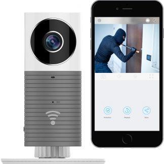 HD Cleverdog Draadloze IP Beveiligingscamera / Babyfoon met infrarood grijs