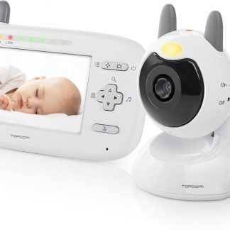 "Topcom KS-4248 Video babyfoon - 4.3"" (11 cm) kleurendisplay - Temperatuur display"