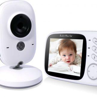 VB603 Babyfoon Baby Monitor met camera en touchscreen - Wit