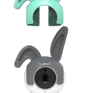 Alecto DIVM-Oortjes voor WIFI babyfoons, 2 stuks | Geschikt voor de Alecto DIVM-550 en DIVM-770 | Blauw / Grijs