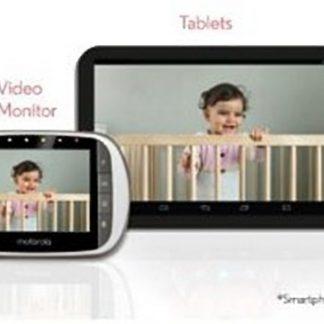 Motorola d Dual Mode Beeld Babyfoon WIFI met Camera en Gratis App voor Smartphone