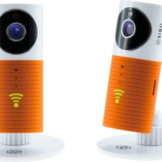 WiFi Beveiligingscamera en babyfoon - Sinji Smart WiFi Camera oranje