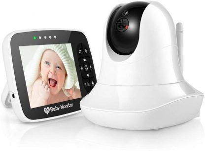 Babyfoon met camera - Baby Monitor - Digitale Babyfoon - Babyfoon met display