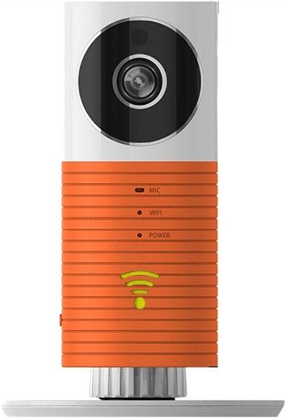 HD Cleverdog *2018* WiFi IP Beveiligingscamera / Babyfoon - Met infrarood & Cloud opslag - Oranje