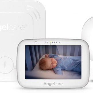 Angelcare Babyfoon AC527- Video, geluid - sensormatje - 5 inch scherm NEW2019