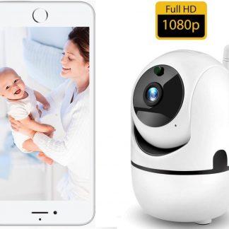 Babyfoon Met Camera - Beweeg En Geluidsdetectie - Met App - Draadloos - WiFi - Smart Camera - Opslag In Cloud Of SD - Higestone