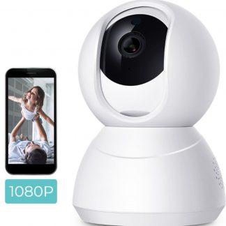 JAP Appliances SMF04 - HD 1080p Wifi Babyfoon met Camera én App - Beveiligingscamera - Microfoon en speaker - Bewegingsdetectie - Wit
