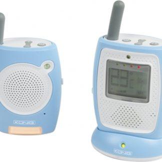 König HC-BM10 DECT babyphone Blauw, Wit babyfoon