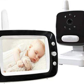 TJ Store® Premium New Babyfoon met camera - babyfoon - Babyfoon met monitor - baby temperatuurbewaking - slaapliedjes - Babyfoon met display - Nachtzicht