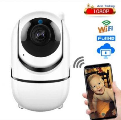 Beveiligingscamera-Babyfoon -Wifi-Bewakingscamera-Bewegingsdetectie-Internet