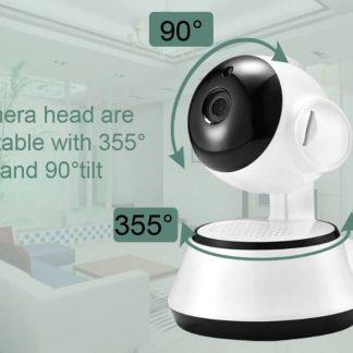 Beveiligingscamera | Security | Babyphone Draadloos | Slimme babyfoon| Praten en luisteren | Infrarood | Nachtzicht | Binnen en buiten | Bewegingsmelding | Babyphone