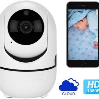 De Best Verkochte - Babyfoon Met Camera - Beweeg En Geluidsdetectie - Met App - Draadloos - WiFi - Smart Camera - Opslag In Cloud Of SD - Higestone