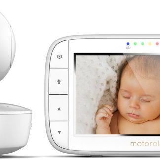 "Motorola MBP50 Babyfoon Video 5.0"" - Dect - 300m"