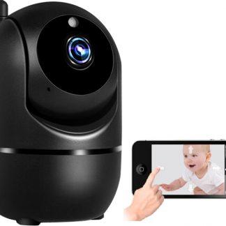 Babyfoon - Beveiligings camera - Wi-Fi - 1080P - Full HD - 2.0 MP - Twee weg audio - Nachtzicht - Bewegingsdetectie - 360 graden zicht - Android / IOS App