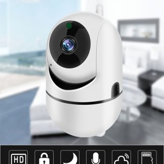 Babyfoon Met Camera - Beweeg En Geluidsdetectie - Met App - WiFi - Smart Camera - Opslag In Cloud Of SD