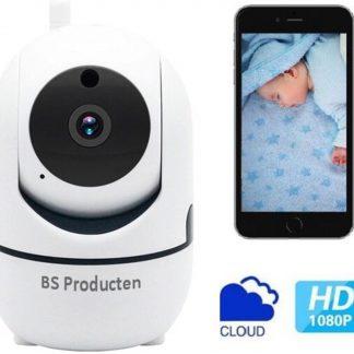 Babyfoon Met Camera - Beweeg En Geluidsdetectie - Met App - WiFi - Smart Camera - Opslag In Cloud Of SD - BS Producten - Babyphone