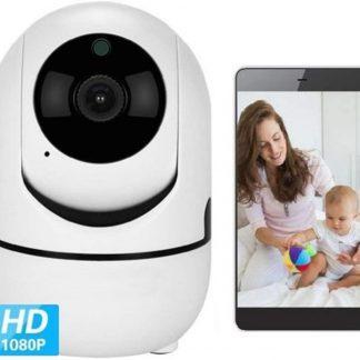 Babyfoon met camera - babyfoon - WIFI-Veilige Camera - Two-Way Audio - Nachtvisie - IOS & Android - Nieuw Model 2019