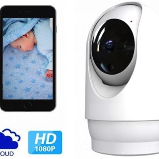 De Best Verkochte - Babyfoon Met Camera 2.0 - Beweeg En Geluidsdetectie - Met App - BS Producten - WiFi - Smart Camera - Opslag In Cloud Of SD -
