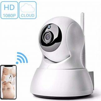 HD Wifi Babyfoon met Camera - Bewakingscamera - iOS/Android App - Wit