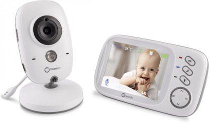 Lionelo Babyfoon Met Camera Babyline 6.1 Wit