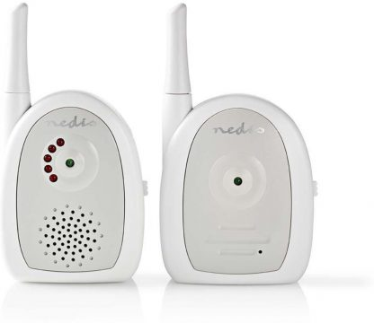Nedis BAMO111AUWT Audio-babyfoon 2,4 Ghz