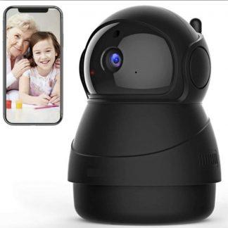 Tijdelijk inclusief 32GB micro sd kaart | Babysafepro X8 zwart - Babyfoon met camera - 32GB micro sd - Bewegingsdetectie - beveiligingscamera - ip camera - full hd