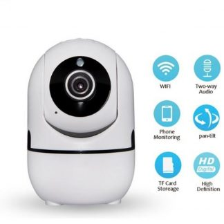 WIFI| Beveiligingscamera | 720p | Nachtzicht | Infrarood | Babyfoon