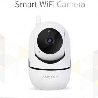 WiFi Security Camera - Babyfoon - Bewegings- en Geluidsdetectie - Nachtvisie - 1080p -Full HD - Two-way Audio - Cloud Storage - Wit