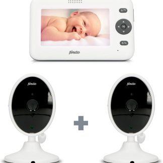 Alecto Baby DVM-140 Babyfoon met 2 camera's