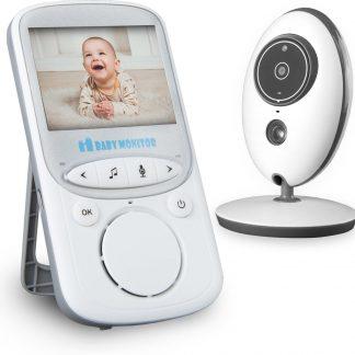Babyfoon - met camera - met eigen LCD-scherm