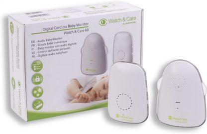 Digitale Draadloos Audio Babyfoon met verlichting