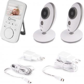 Lionelo babyfoon met camera's Babyline 5.1 wit