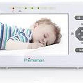 Premaman Beeld Babyfoon met Camera Temperatuur Nachtzicht Slaapliedjes