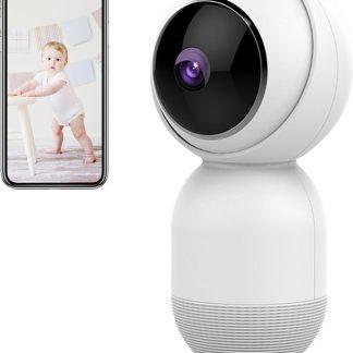 UP-Tech 1080P WiFi Beveilingscamera met Bewegingsdetectie - Bewakingscamera - Babyfoon met Camera - Smart Home